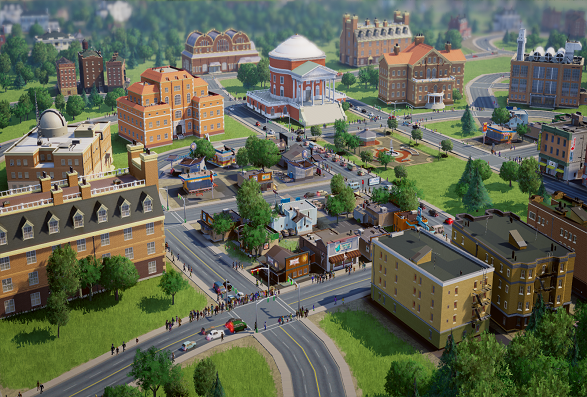 The SimCity (Courtesy: simcity.com)