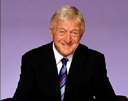 Sir Michael Parkinson, 78, has been diagnosed with prostate cancer (BBC)