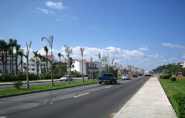 Street in Cancun, Mexico