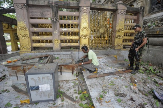 Bodh Gaya blasts in Bihar, India
