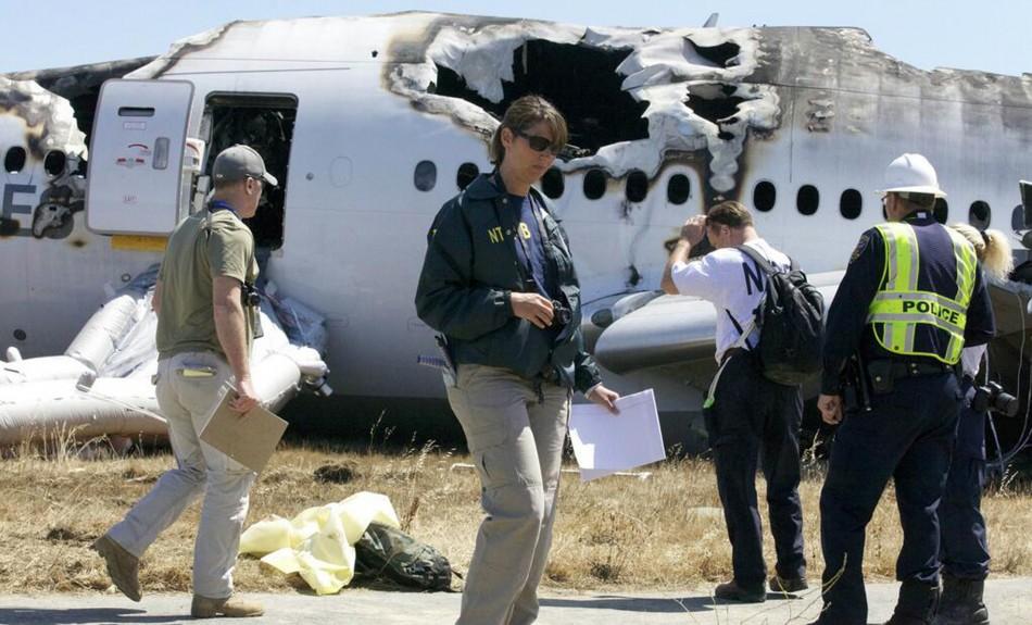 Suspicions arise of pilot error