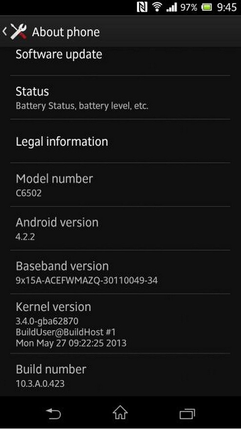 Root Xperia ZL Running on Android 4.2.2 Jelly Bean [GUIDE]