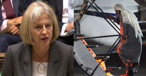Theresa may was speaking to MPs about Abu Qatada's deportation (Reuters)