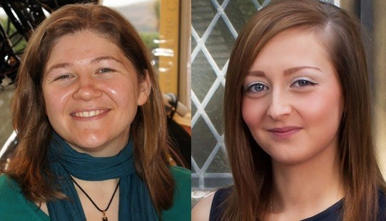Murdered police officers Fiona Bone (L) and Nicola Hughes (GMP)
