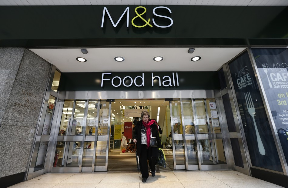 M&S's clothing sales fall for the eight successive quarter