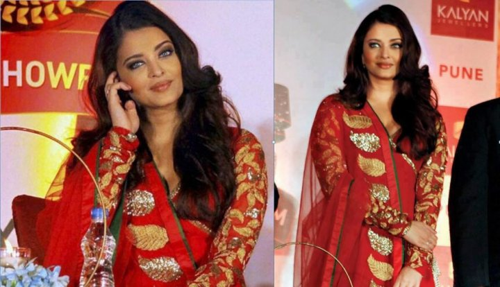 Aishwarya Rai Bachchan in Pune, India