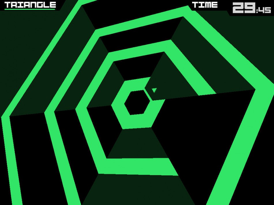 app store fifth birthday super hexagon