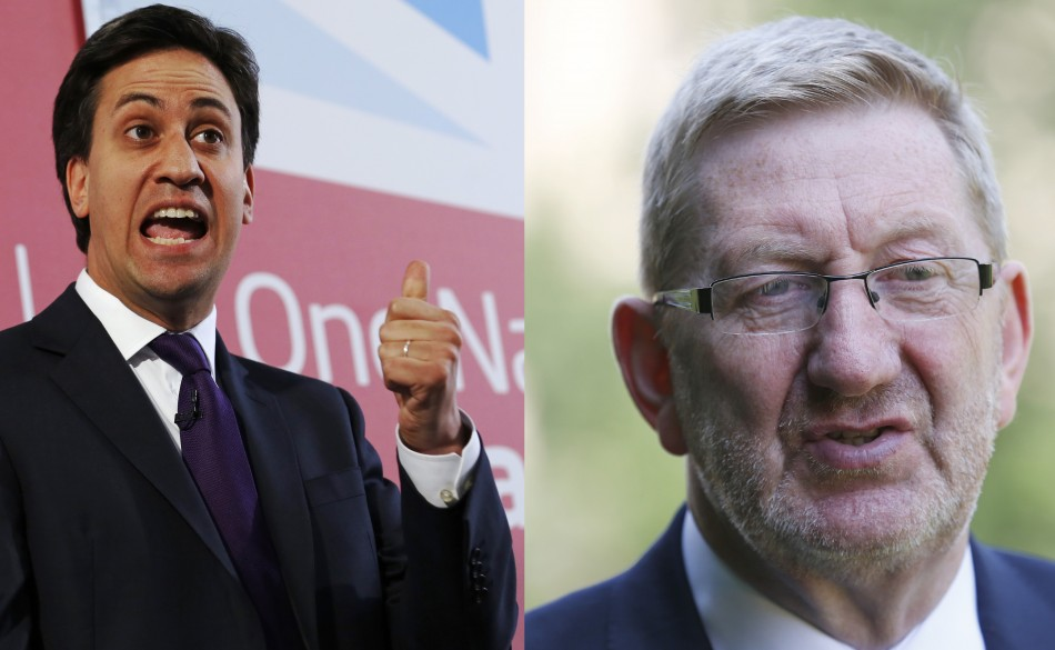 Ed Miliband and Len McCluskey