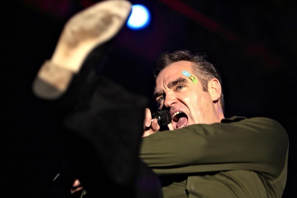 Morrissey delivers foie gras slap to Gordon Ramsay