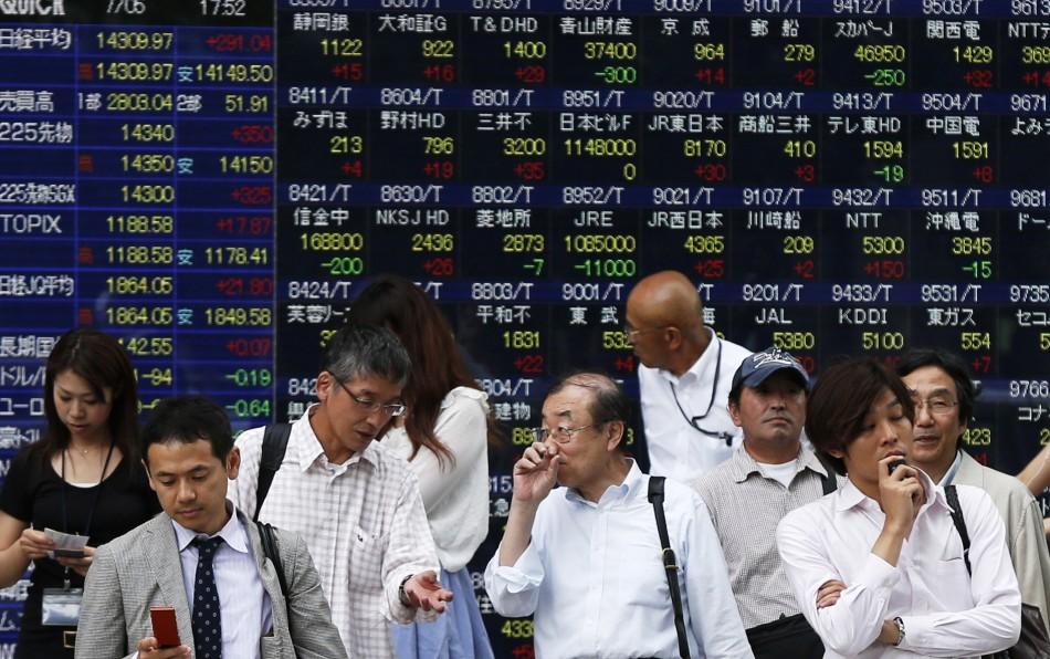 Asian markets outside South Korea open higher on 10 July