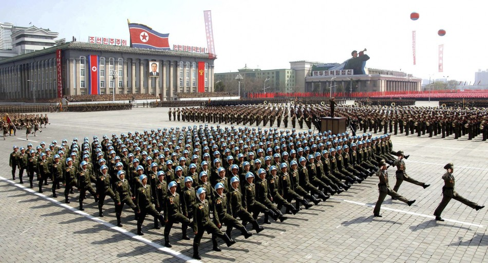 North Korea allegedly redeploys 300,000 troops