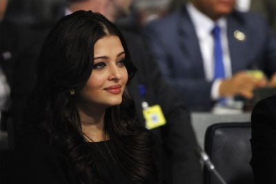 Actress Aishwarya Rai Bachchan listens to speakers at an event to discuss leveraging AIDS response during the 67th United Nations General Assembly at the U.N. Headquarters in New York, September 26, 2012