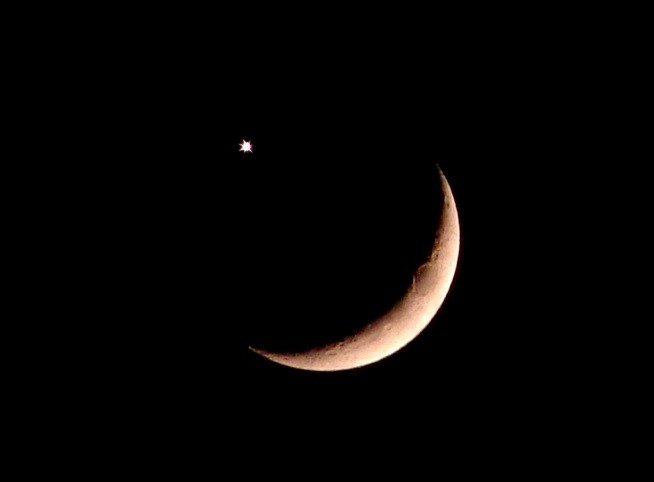 moon in conjunction with Venus
