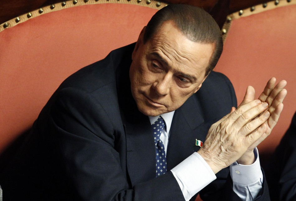 Silvio Berlusconi parliament