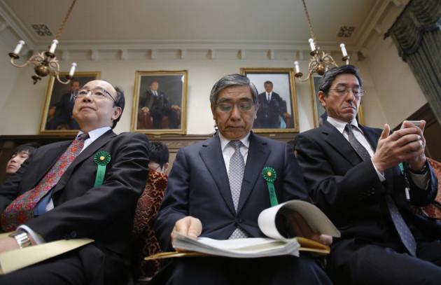 Bank of Japan's (BOJ) Governor Haruhiko Kuroda