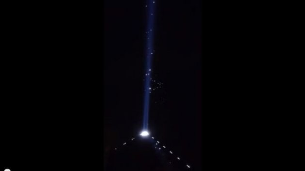 Multiple UFOs Spotted in Las Vegas