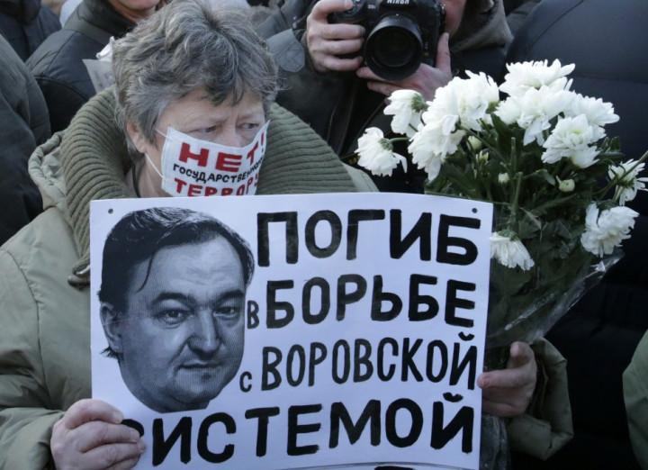 A Sergei Magnitsky supporter demands justice