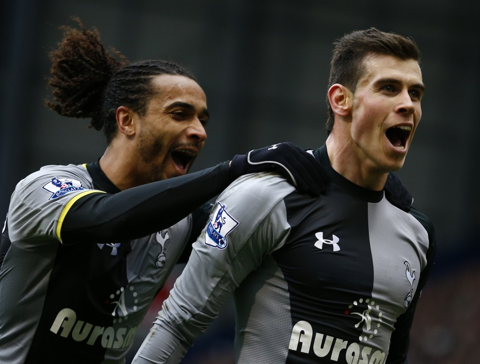 Benoit Assou-Ekotto and Gareth Bale