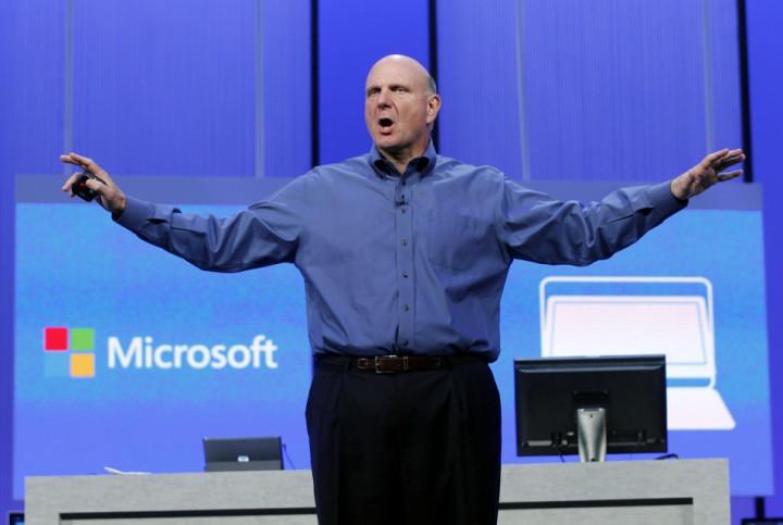 Steve Ballmer Reorganises Microsoft