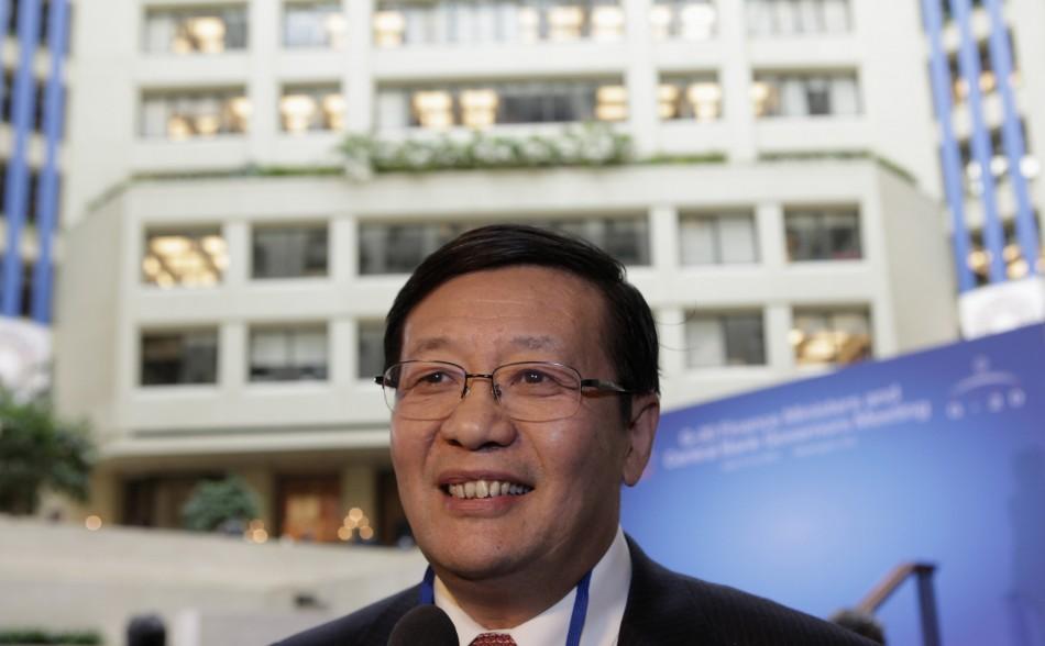Chinese Minister of Finance Lou Jiwei