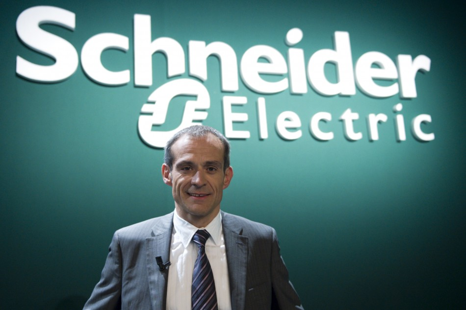 Jean-Pascal Tricoire, CEO of French engineering group Schneider Electric