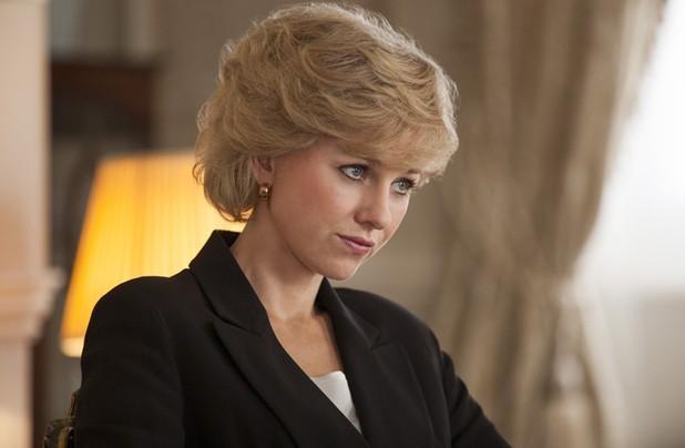Naomi Watts as Princess Diana..TWITTER/@ JSergeGilbert