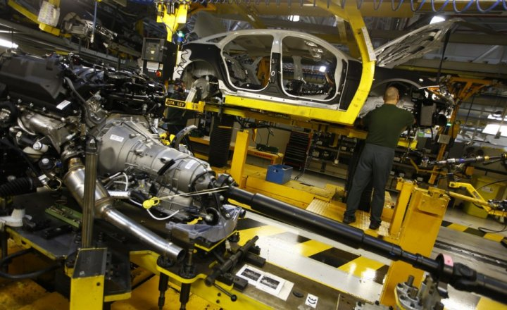 UK car manufacturing
