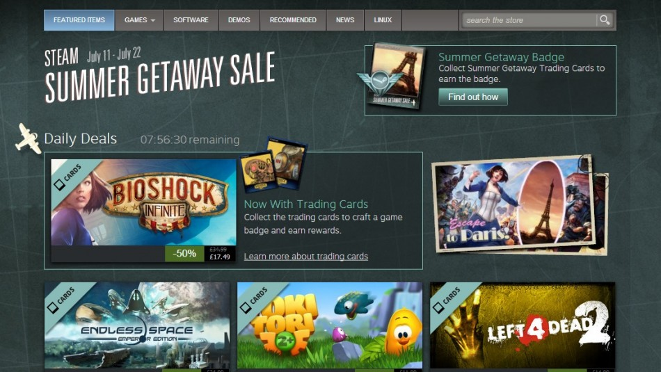 Steam Summer Sale 2013 (Courtesy: store.steampowered.com)
