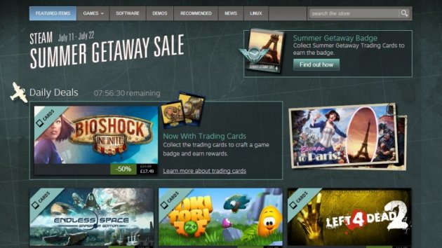 Steam Summer Sale 2013 (Courtesy: store.steampowered.com)