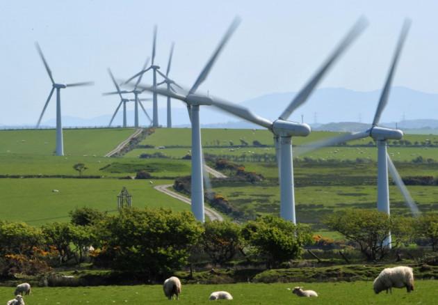 The new windfarm in Pen y Cymoedd  will have 76 turbines (Reuters)
