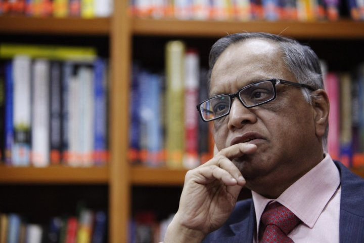 N. R. Narayana Murthy, co-founder of Infosys is tipped to return to the company (Photo: Reuters)