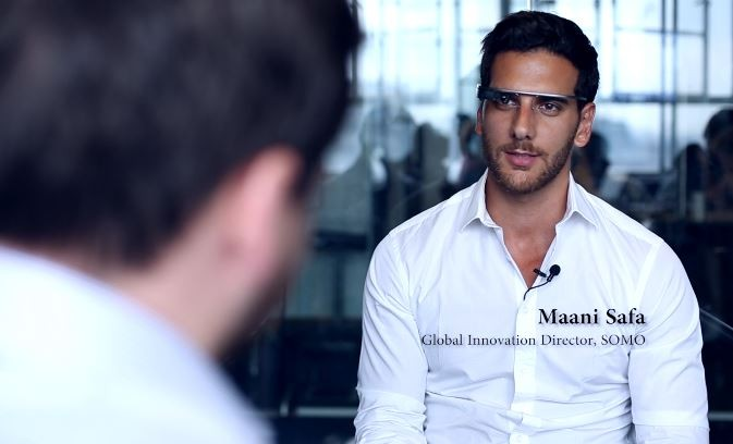 Google Glass Explorer Maani Safa