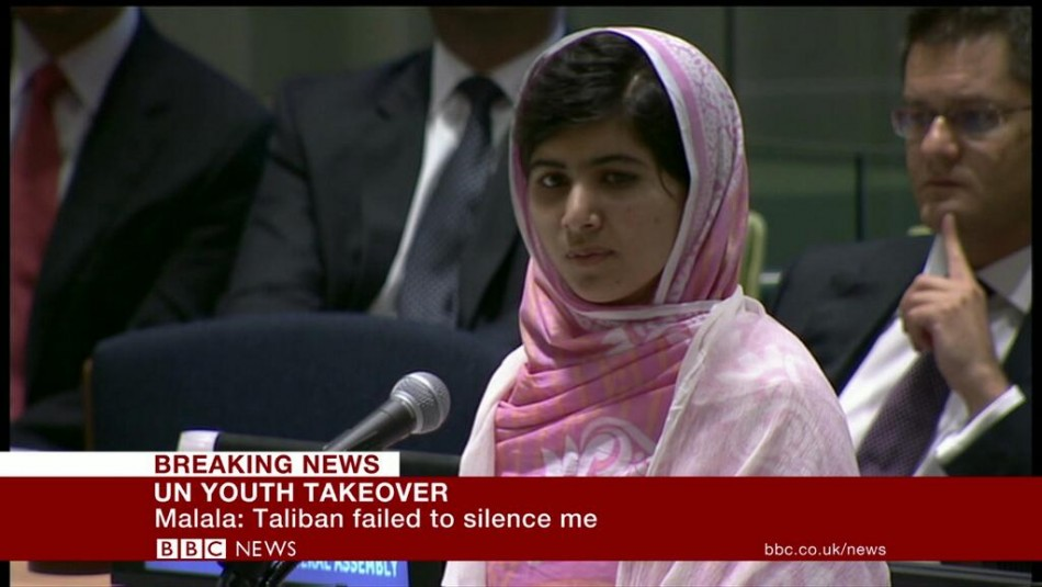 Malala Yousafzai (Reuters)