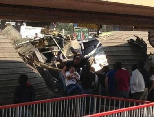 Paris intercity passenger helped to safety after Bretigny smash