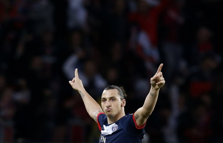 Zlatan Ibrahimovic. (Photo: Reuters)