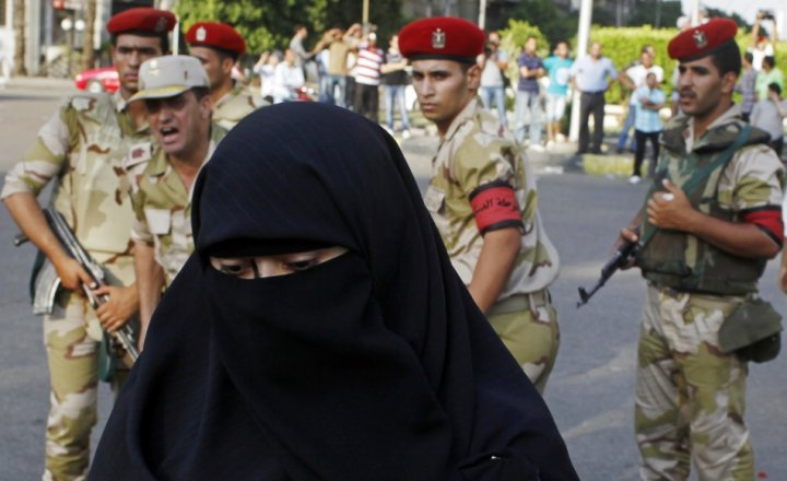 Pro-Morsi women offer to launch sex jihad in Egypt