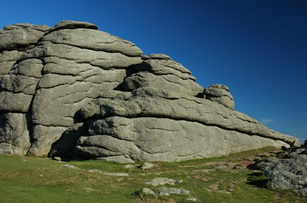 The Haytor rock on Dartmoor
