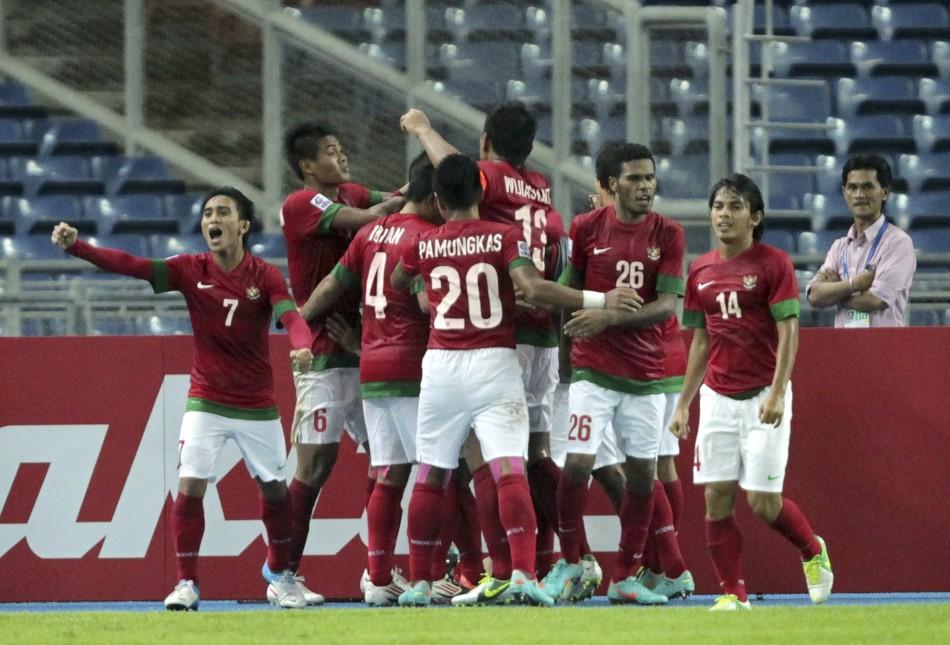 Indonesia v Singapore, 2012