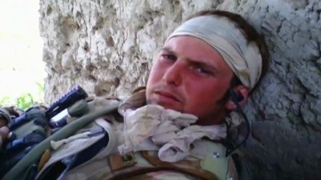 Lance-Sergeant Dan Collins, 29, who killed himself after serving in Afghanistan.
