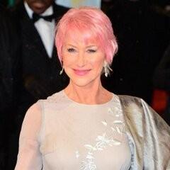 Helen Mirren at the BAFTAs