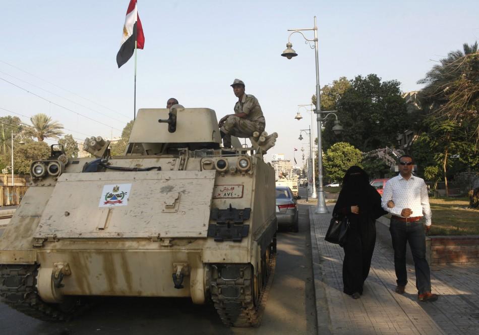 Morsi vs military