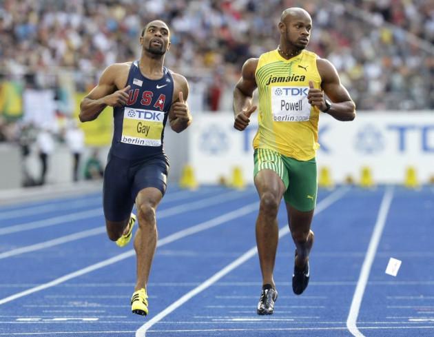 Tyson Gay and Asafa Powell