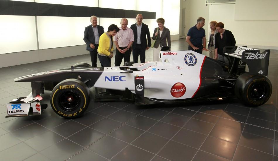 Sauber C31 Formula 1 Car