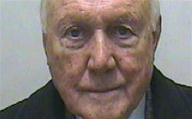 Stuart Hall in police custody