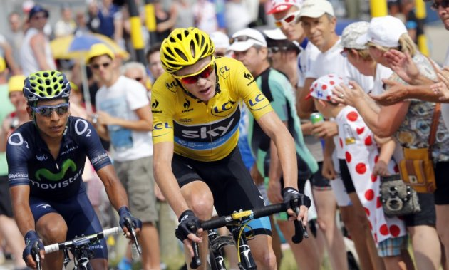Chris Froome (C)