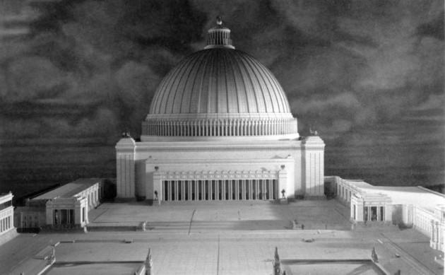 Die Grosse Halle, as imagined by Adolf Hitler
