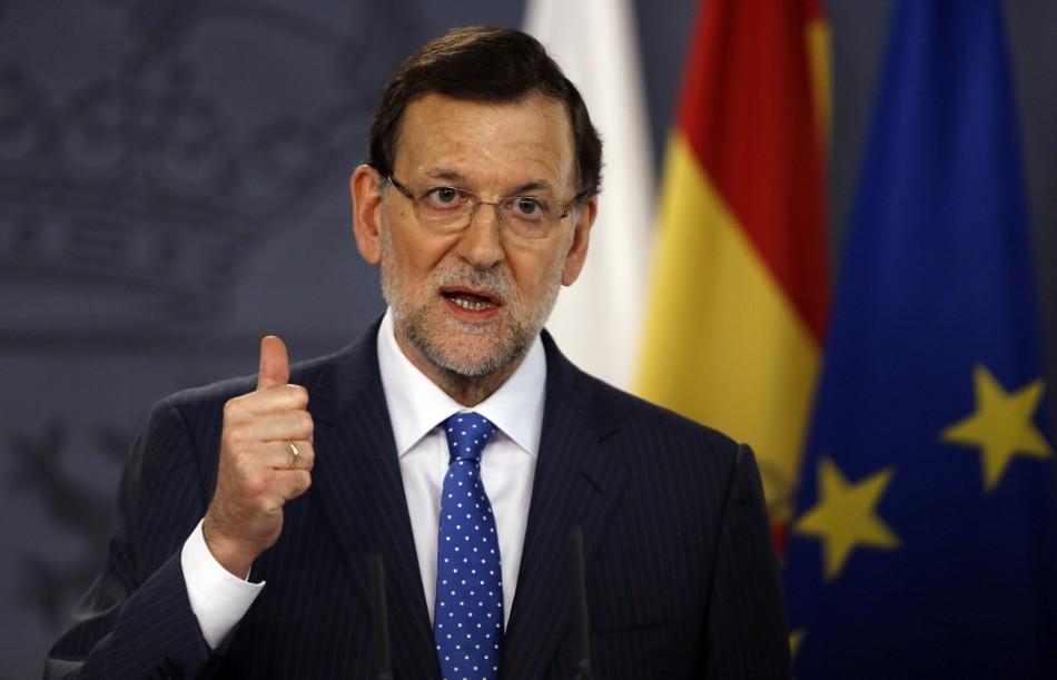 Rajoy Spain corruption