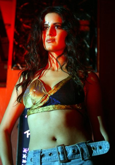 Katrina Kaif wears an outfit from Rohit Vermas SpringSummer Collection entitled Ammus in Bombay June 26, 2003.