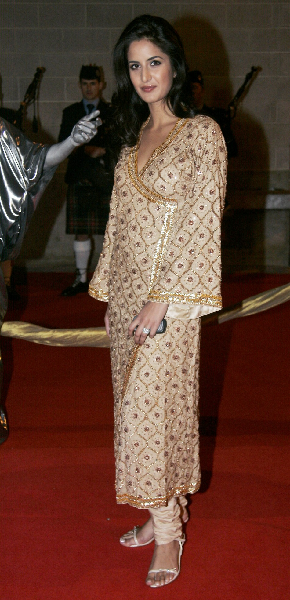 Kaif arrives at the Zee Cine Awards 2005 at the ExCeL Exhibition Centre in London March 26, 2005.