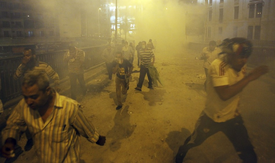Tear gas Cairo